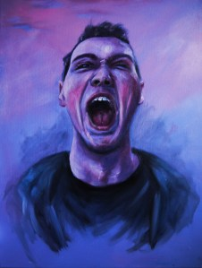 'The Dimension of Pain' - Acrylic and oils on canvas