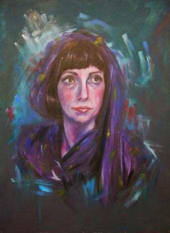 'Somniatis' - Rebecca Deegan - Oil on board