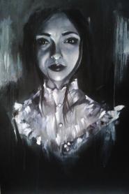 'Delia' - Oil and acrylic - Rebecca Deegan
