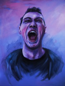 'The Dimension of Pain ' oil on canvas - 40x50cm
