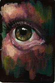 'Occulus' - - Rebecca Deegan Eye Acrylic Painting