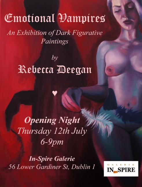 Emotional Vampires Rebecca Deegan In-Spire Galerie Poster