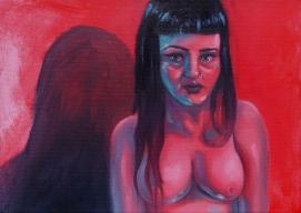 'Overshadow' - oils on canvas - 30x40cm