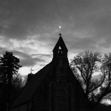 Moonlit Chapel Photography Rebecca Degan