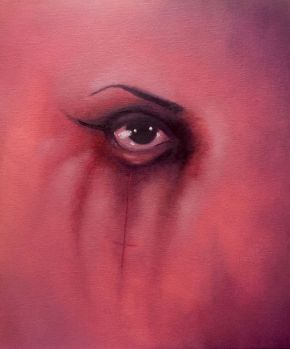 Eye - oil on canvas - Rebecca Deegan